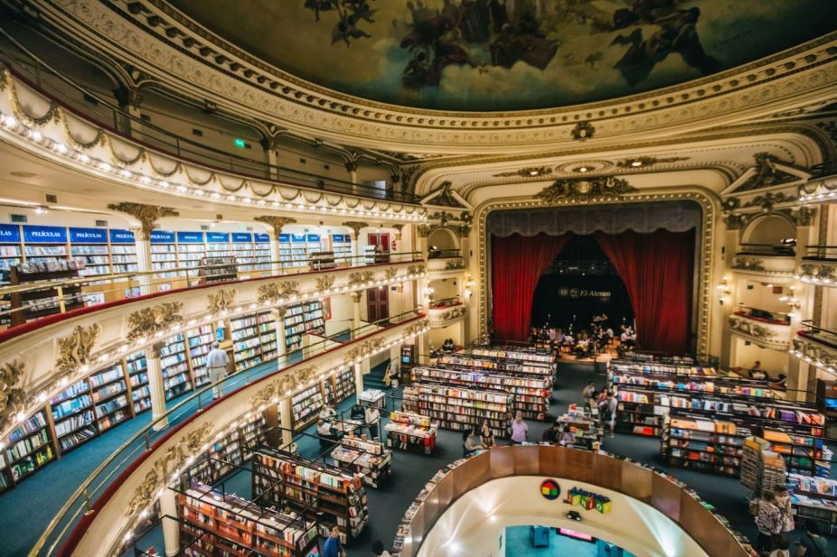 El Ateneo Grand Splendid, world's most beautiful bookshop