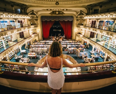 El Ateneo, most beautiful bookshop
