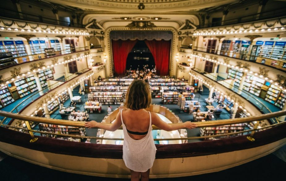 El Ateneo, most beautiful bookshop