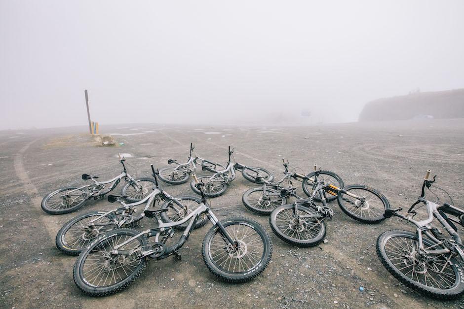 Death road bikes