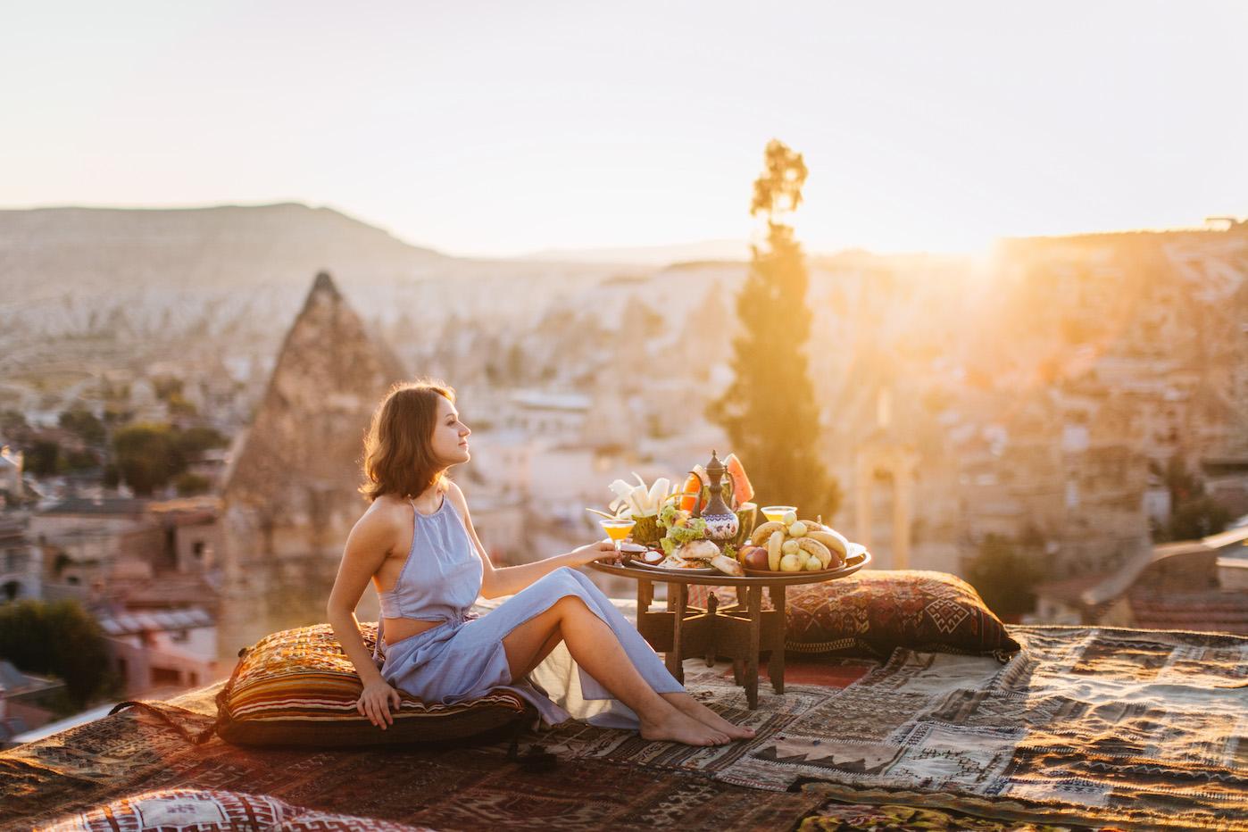 cappadocia rooftop